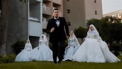 صورة شاهد : صعيدي يتزوج 4 فتيات في يوم واحد.. لإرضاء والدته