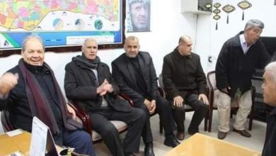 """صورة """"فتح"""": زيارة """"فتوح"""" و""""جبر"""" إلى غزة لهذا السبب"""