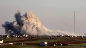 صورة مقتل 32 جنديا تركيا في قصف سوري على إدلب