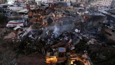 صورة العمادي: صرف الدفعة الاولى من المنحة القطرية لمتضرري حريق النصيرات الخميس