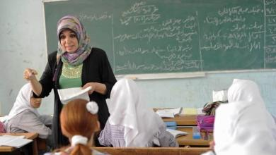 صورة آلاف الطلبة بقطاع غزة يلتحقون بمدارسهم اليوم إيذاناً ببدء العام الدراسي الجديد