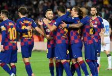 صورة رقم تاريخي ينتظر نجم نادي برشلونة في دوري الأبطال