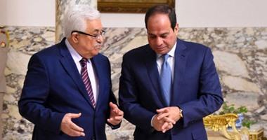 صورة الرئاسة المصرية تكشف تفاصيل لقاء الرئيس عباس مع نظيره السيسي بالقاهرة