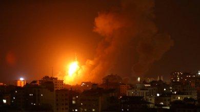 صورة طائرات الاحتلال تستهدف أراضٍ زراعية و عدة مواقع في قطاع غزة