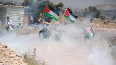 صورة 3 إصابات بالرصاص المطاطي وحالات اختناق خلال قمع الاحتلال مسيرة كفر قدوم