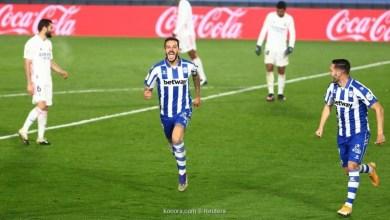 """صورة ألافيس يحقق فوزا غاليا على حساب """"ريال مدريد"""" في الليغا"""