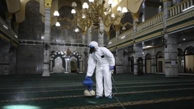 """صورة أوقاف بيت لحم تغلق مسجدًا إثر اكتشاف إصابات بفيروس""""كورونا"""""""
