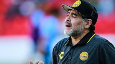 """صورة وفاة أسطورة كرة القدم الأرجنتيني """"دييغو مارادونا"""""""