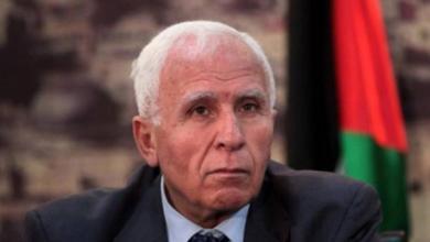 صورة الأحمد والسفير المصري يستعرضان الأوضاع الفلسطينية والعربية