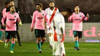 صورة برشلونة يتأهل إلى ربع نهائي كأس إسبانيا بفوز شاق على رايو فاليكانو