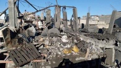 صورة إصابات في انفجار ببيت حانون شمال قطاع غزّة
