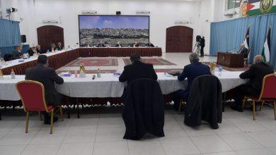 """صورة تفاصيل اجتماع اللجنة المركزية لحركة """"فتح"""" برئاسة الرئيس عباس"""