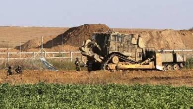 صورة آليات الاحتلال تتوغل بشكل محدود شرق رفح