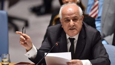 صورة في ظل غياب المساءلة: منصور يدعو إلى تحميل الاحتلال المسؤولية عن جرائمه بحق شعبنا ومقدراته