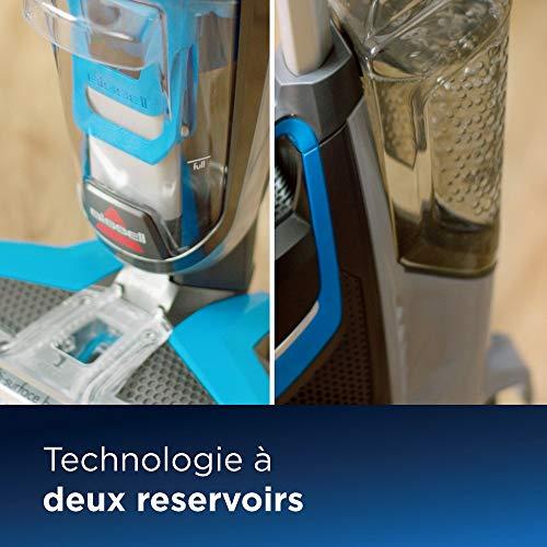 BISSELL CrossWave | Aspirateur/nettoyeur/sécheur 3-en-1 pour sols durs et moquettes | Fonctionne avec de l'eau | 17132