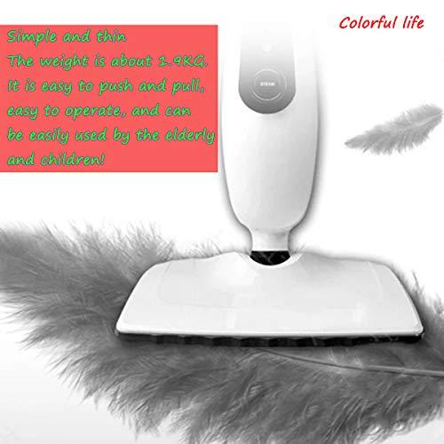 Coloré vie manuelle haute température ménager balai vapeur multifonction ménage nettoyeur vapeur à main électrique haute température serpillère sans fil machine de nettoyage