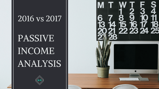 Balanced Dividends Passive Income Analysis: 2016 vs. 2017