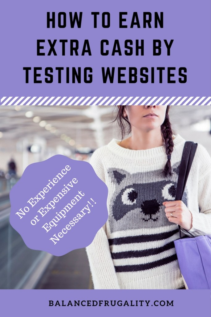 Testing websites is an easy way to earn a few hundred dollars a month without taking a ton of time out of your day.