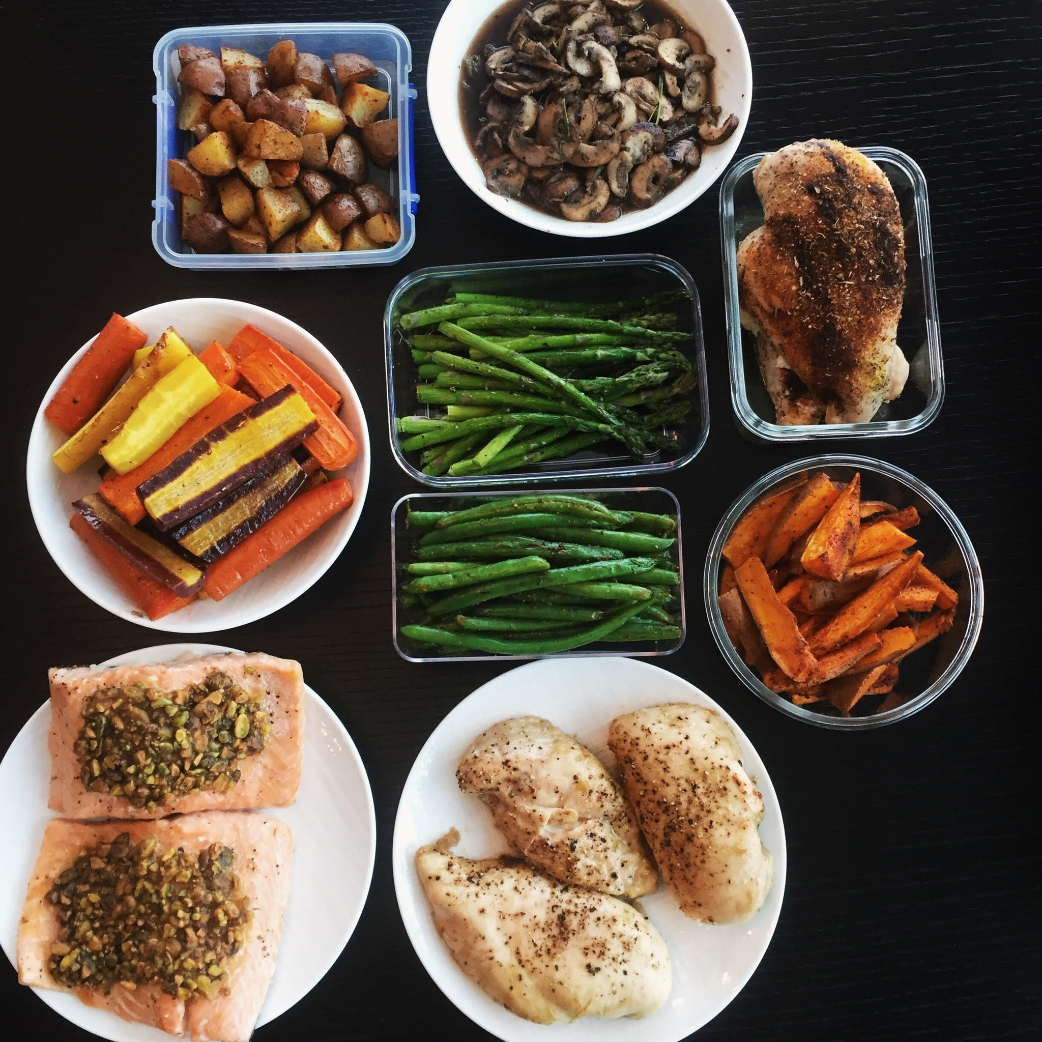 A Look Back At My Monthly Meal Prep - April 2017