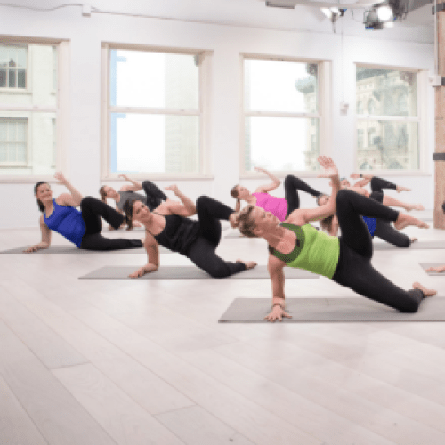 Barre Harmony Launch at Daily Burn