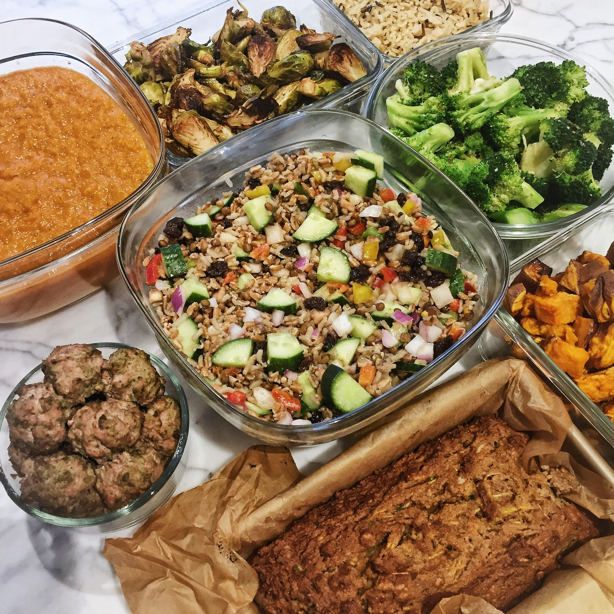 A Look Back At My Monthly Meal Prep – May 2017