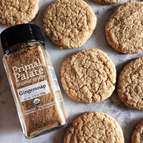 Soft and Chewy Gluten Free Gingersnap Cookies