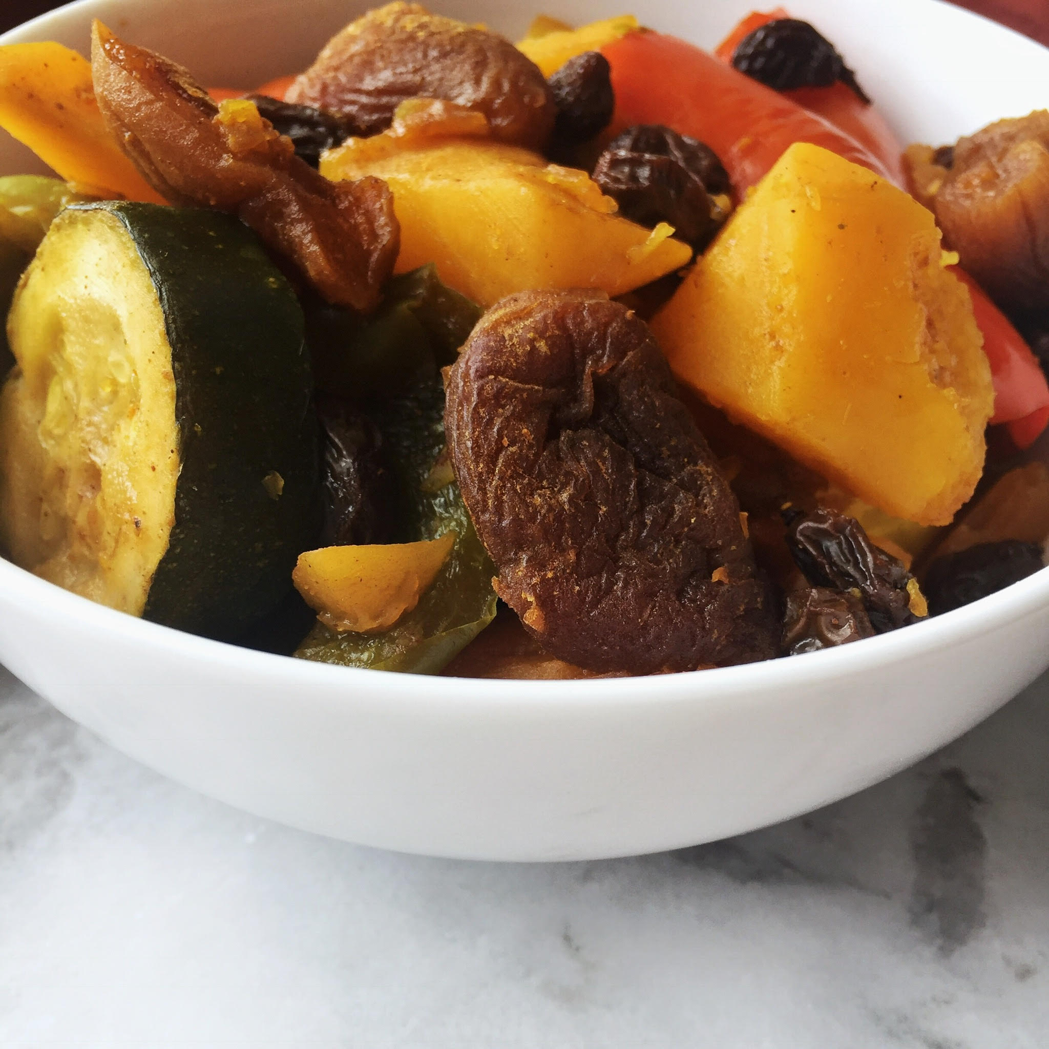 Slow Cooker Moroccan Vegetable Tangine
