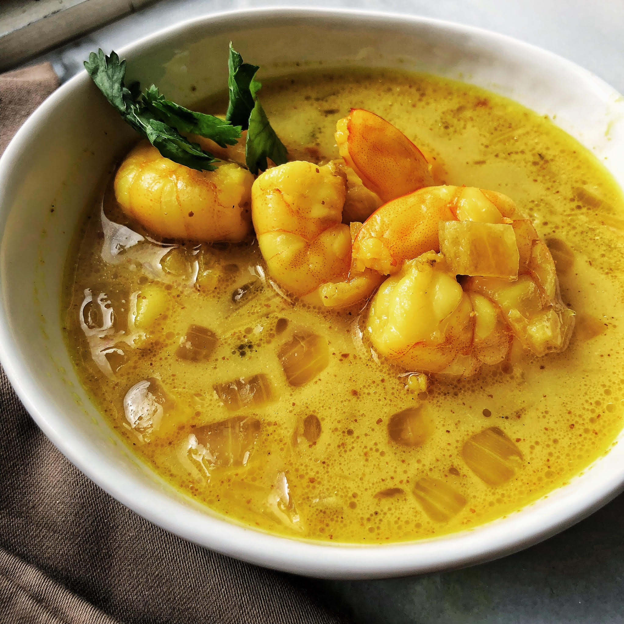 Whole30 Coconut Shrimp Curry
