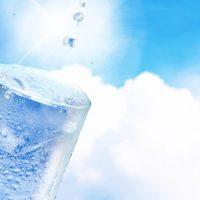脱水には水分補給