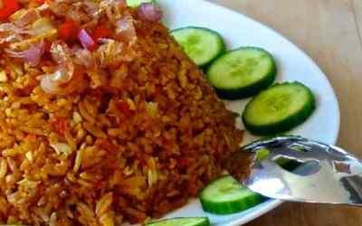 Indonesian Fried Rice or Nasi Goreng