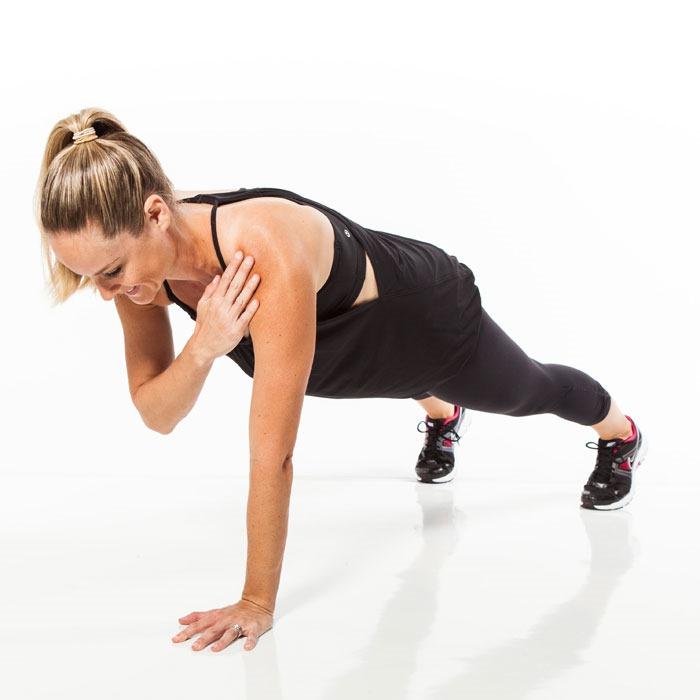 Shoulder Tap Plank