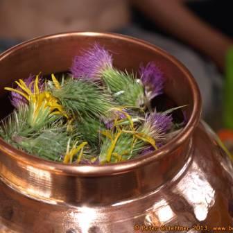 Aroma- und Entspannungscamp 2013 - ätherische Öle selbst destillieren