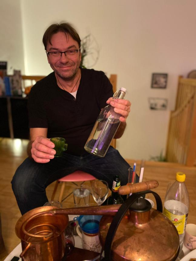 Personal Gin mit Peter
