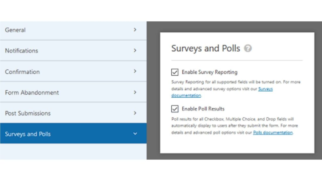WPForms Smart survey fields
