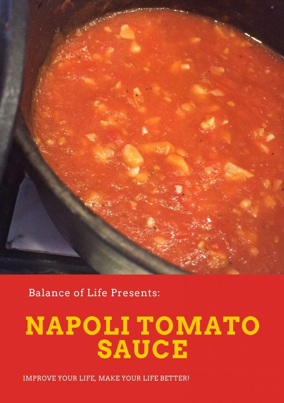 Napoli Tomato Sauce