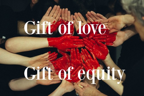 what is a gift of equity