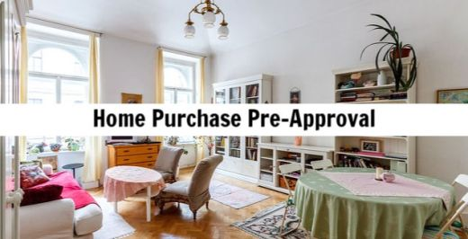 mortgage pre approval bad credit home purchase
