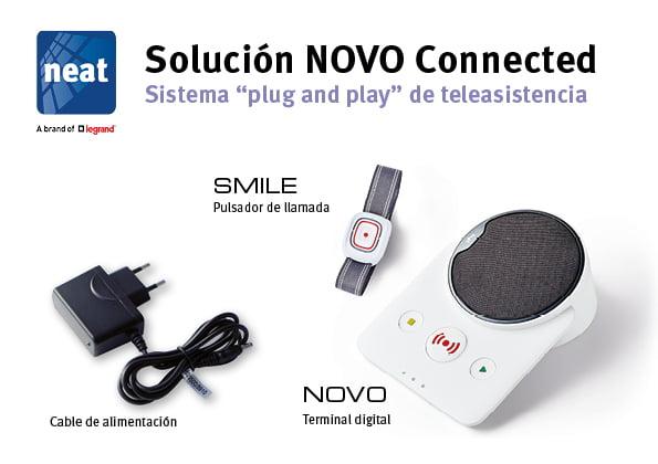 La solución NOVO Connected de Neat está siendo instalada y configurada de forma remota para prevenir la propagación de la enfermedad COVID-19