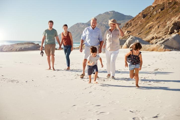 planificar las vacaciones con las personas mayores