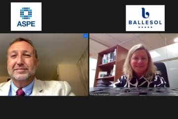 ASPE y Ballesol firman un acuerdo de colaboración