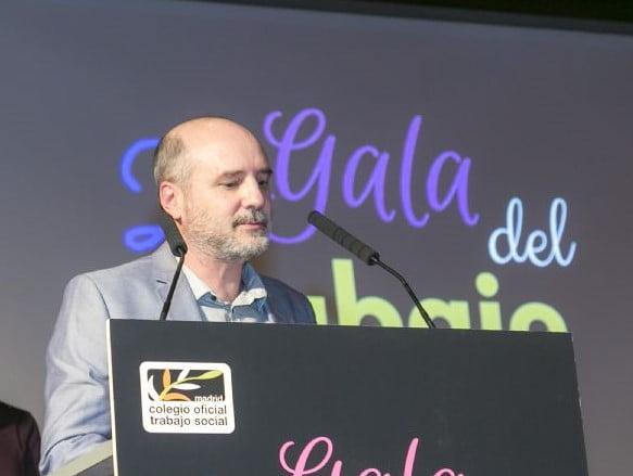 Daniel Gil, nuevo decano del Colegio Oficial de Trabajo Social de Madrid