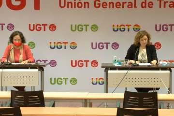 UGT denuncia la infradeclaración de los contagios entre los profesionales sociosanitarios