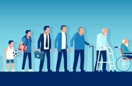 El proceso de envejecimiento en España
