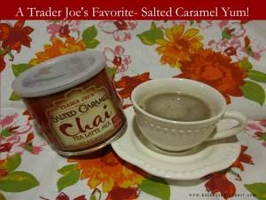 Trader Joe's Salted Carmel Chai