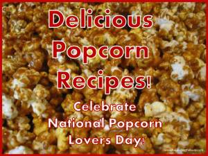 delicious popcorn recipes