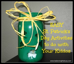 Easy St. Patrick's Day Activities