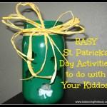 Easy St. Patrick's Day Activities