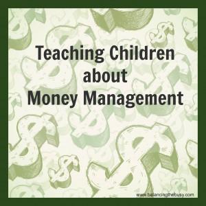 Teaching Children about Money Management