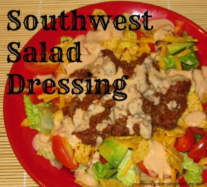 Southwest Salad Dressing- Great on taco salads!