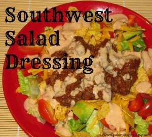 Southwest Salad Dressing- Great on taco salads!